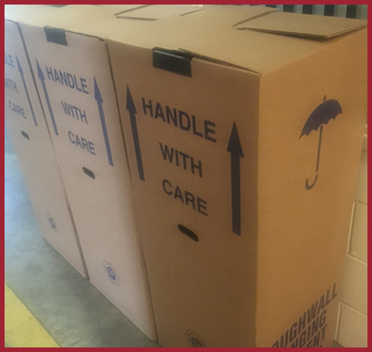 Packaging Materials from Hardakers Removals and Storage in Hull