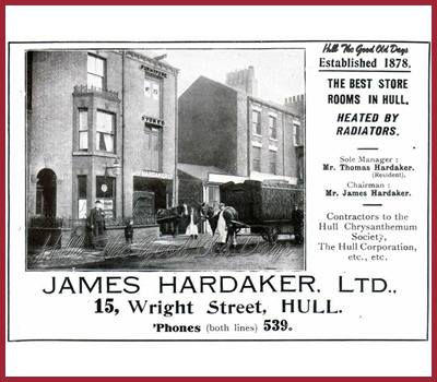 Hardakers Removals and Storage in Hull History 5