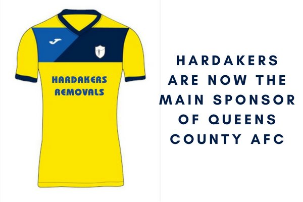 Hardakers Are Now The Main Sponsor Of Queens County AFC